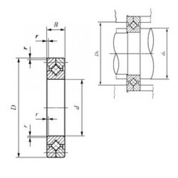 60 mm x 90 mm x 13 mm  IKO CRB 6013 Rodamientos Axiales De Rodillos