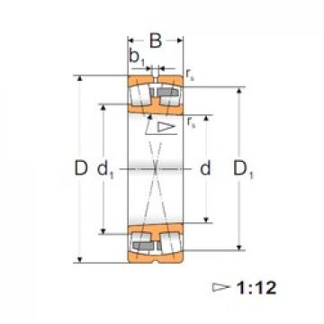 45 mm x 100 mm x 36 mm  FBJ 22309K Rodamientos De Rodillos Esféricos