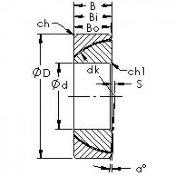 AST GAC55T Rodamientos Deslizantes