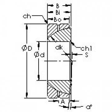 AST GAC120S Rodamientos Deslizantes