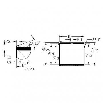 AST AST11 19080 Rodamientos Deslizantes