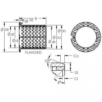 AST ASTB90 F16060 Rodamientos Deslizantes