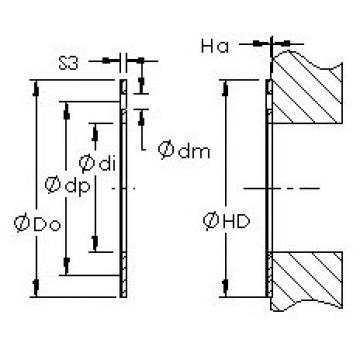 AST AST20 WC42 Rodamientos Deslizantes