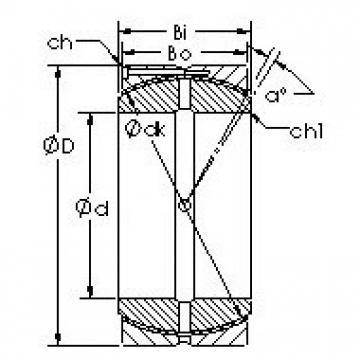 AST GEH110HCS Rodamientos Deslizantes