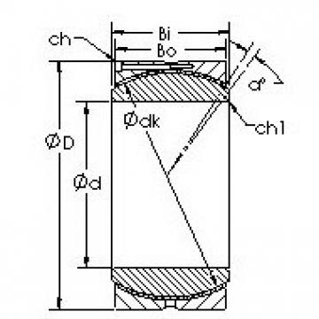 AST GEH400HC Rodamientos Deslizantes