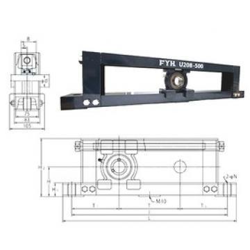 FYH UCTU318-800 Unidad De Rodamiento