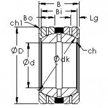 AST GEGZ114HS/K Rodamientos Deslizantes