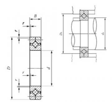 100 mm x 150 mm x 20 mm  IKO CRB 10020 UU Rodamientos Axiales De Rodillos
