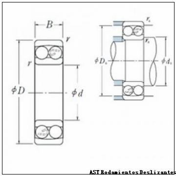 AST GE280XT-2RS Rodamientos Deslizantes
