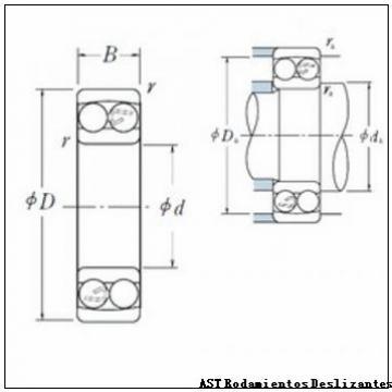 AST GEZ76ES-2RS Rodamientos Deslizantes